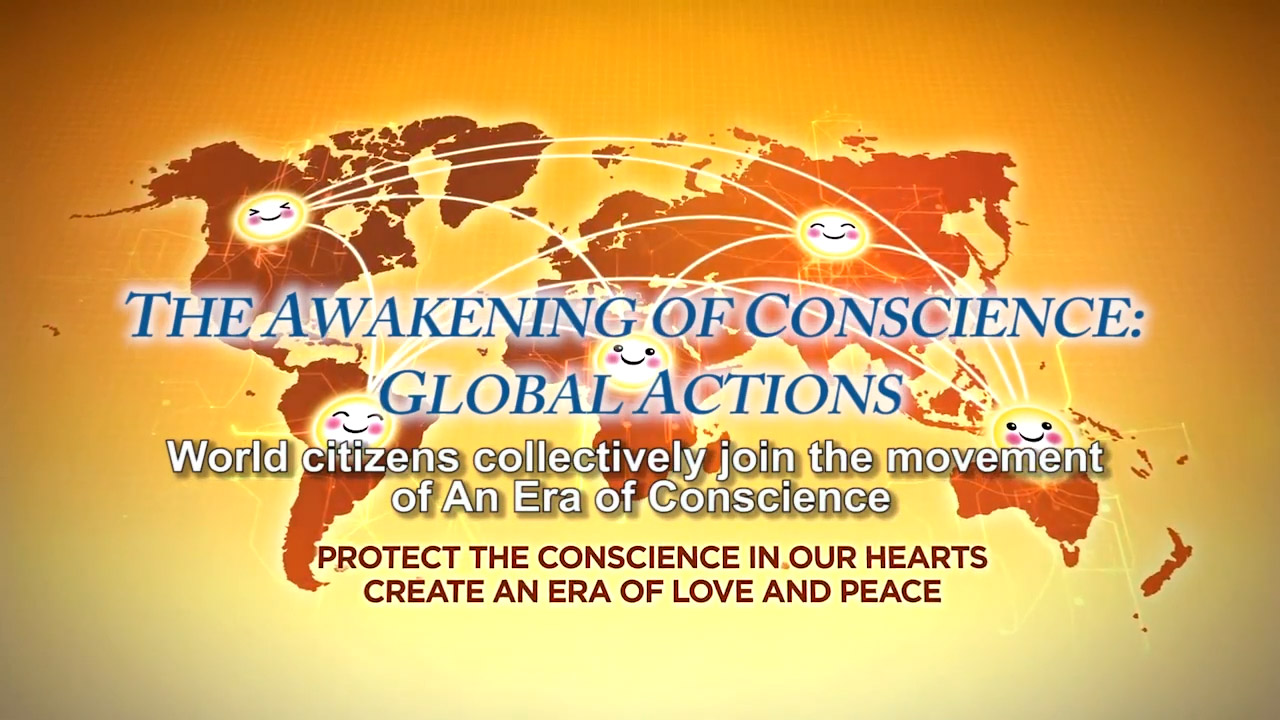 The awakening of conscience: global actions